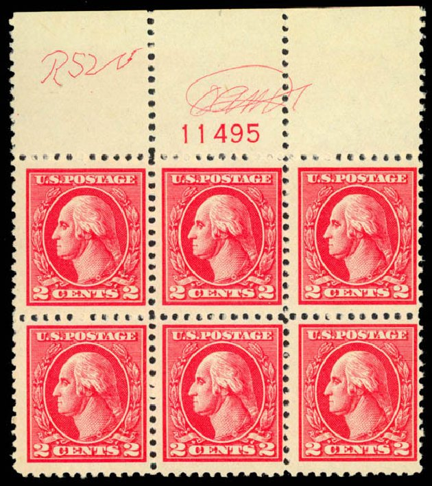 Value of US Stamp Scott 528: 2c 1920 Washington Offset Perf 11. Daniel Kelleher Auctions, Mar 2013, Sale 635, Lot 626