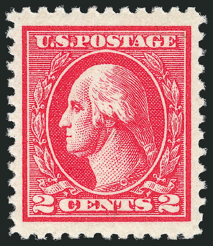 Price of US Stamp Scott Catalog 528A - 1920 2c Washington Offset Perf 11. Robert Siegel Auction Galleries, Dec 2013, Sale 1062, Lot 720