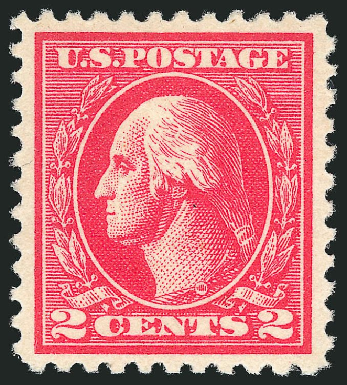 US Stamp Prices Scott Catalog # 528A - 1920 2c Washington Offset Perf 11. Robert Siegel Auction Galleries, Dec 2014, Sale 1090, Lot 1570