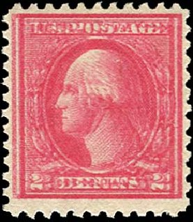 US Stamp Value Scott Catalogue #528A: 1920 2c Washington Offset Perf 11. Regency-Superior, Nov 2014, Sale 108, Lot 1514