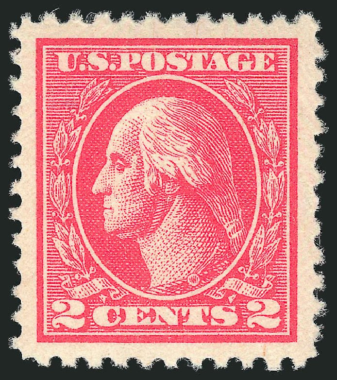 Cost of US Stamp Scott Catalogue 528B - 2c 1920 Washington Offset Perf 11. Robert Siegel Auction Galleries, Dec 2014, Sale 1090, Lot 1571