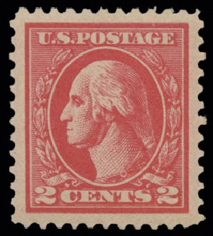 US Stamps Price Scott Catalog 528B - 1920 2c Washington Offset Perf 11. H.R. Harmer, May 2014, Sale 3005, Lot 1302