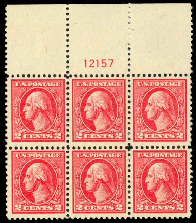 Value of US Stamps Scott Cat. #528B: 1920 2c Washington Offset Perf 11. Daniel Kelleher Auctions, Mar 2013, Sale 635, Lot 632