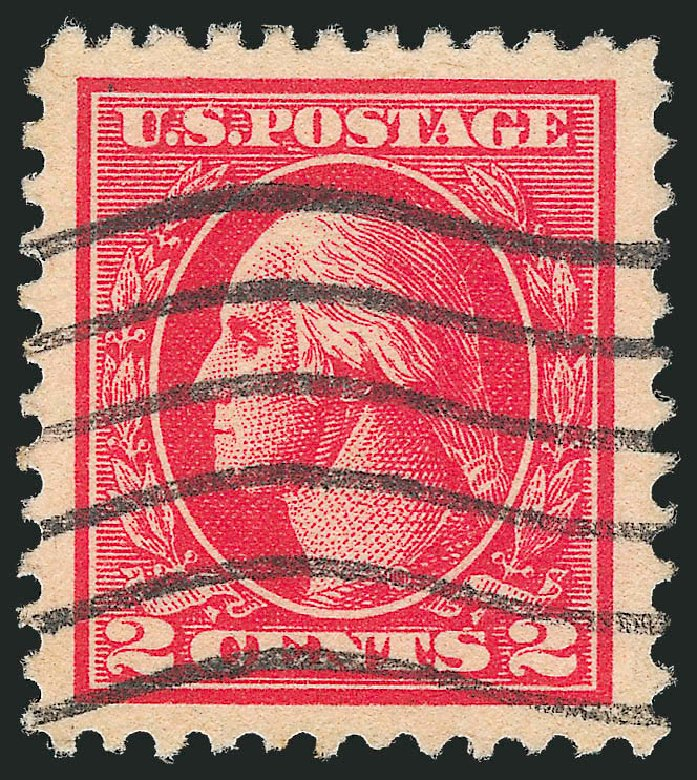 US Stamps Price Scott Catalogue #528B - 1920 2c Washington Offset Perf 11. Robert Siegel Auction Galleries, Oct 2012, Sale 1032, Lot 3616