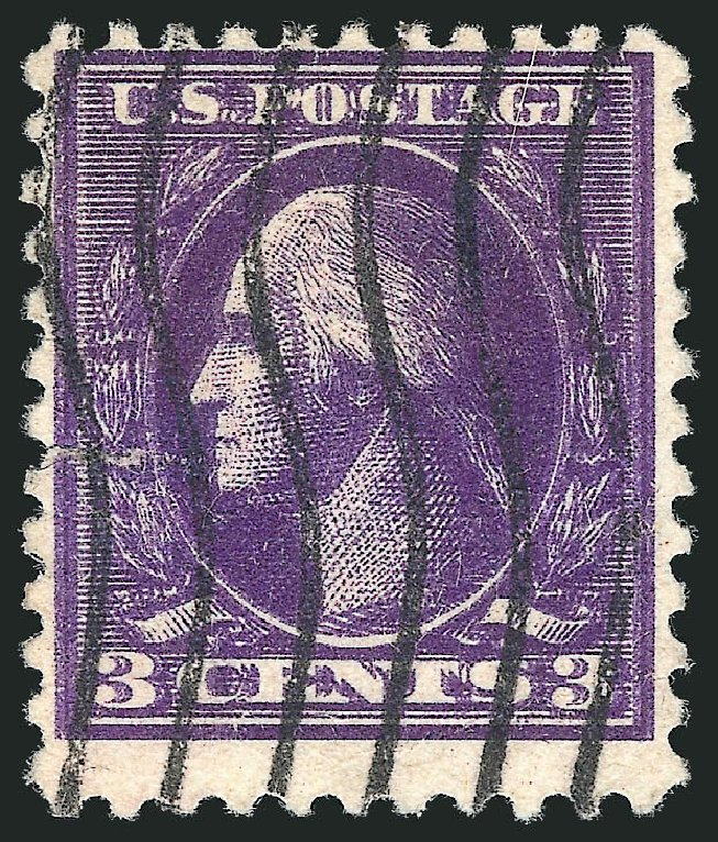 US Stamps Value Scott Catalog # 530: 1918 3c Washington Offset Perf 11. Robert Siegel Auction Galleries, Mar 2013, Sale 1040, Lot 1929