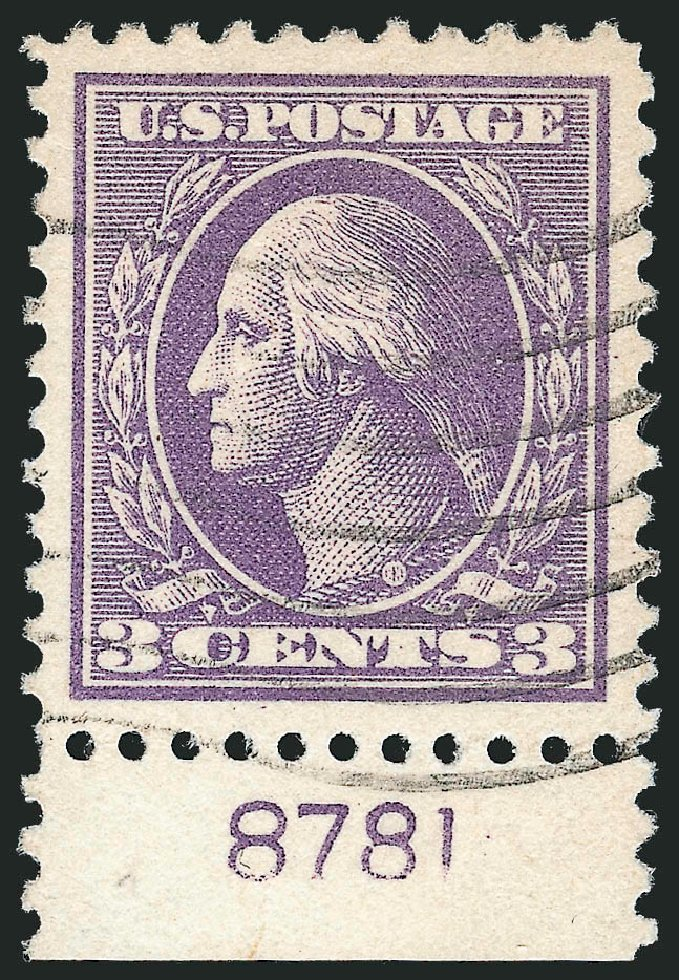 Costs of US Stamps Scott Catalog # 530 - 3c 1918 Washington Offset Perf 11. Robert Siegel Auction Galleries, Oct 2012, Sale 1032, Lot 3620