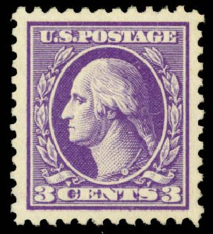 Prices of US Stamp Scott Catalog #530: 1918 3c Washington Offset Perf 11. Daniel Kelleher Auctions, Jan 2015, Sale 663, Lot 1872