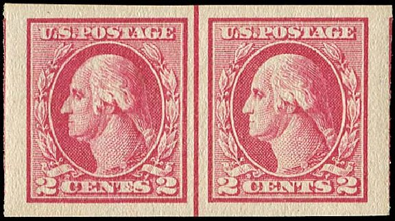 Prices of US Stamp Scott Cat. #532: 1920 2c Washington Offset Imperf. Regency-Superior, Nov 2014, Sale 108, Lot 938