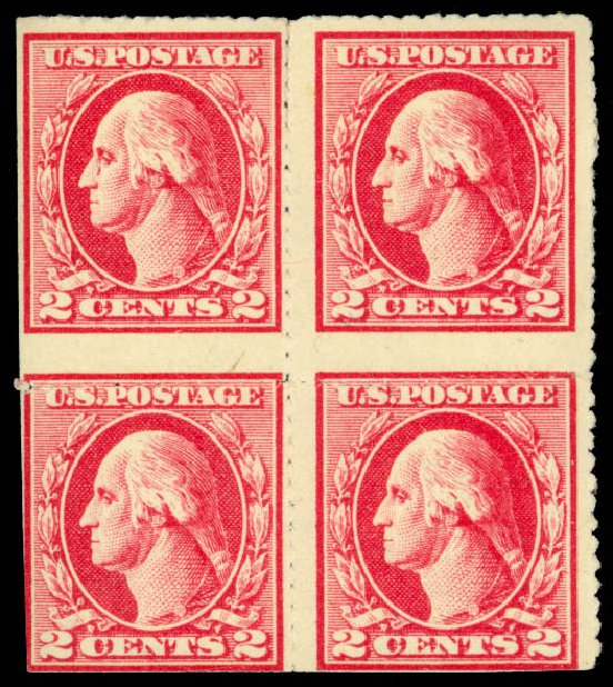 Costs of US Stamps Scott #532 - 2c 1920 Washington Offset Imperf. Daniel Kelleher Auctions, Aug 2015, Sale 672, Lot 2786