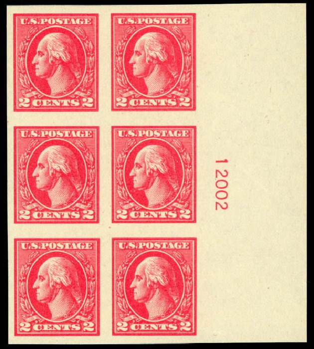 Price of US Stamp Scott Catalog # 534: 1920 2c Washington Offset Imperf. Daniel Kelleher Auctions, Mar 2013, Sale 635, Lot 638