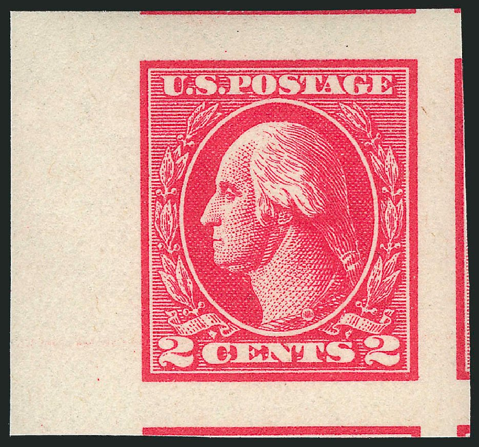 Prices of US Stamp Scott Cat. #534 - 1920 2c Washington Offset Imperf. Robert Siegel Auction Galleries, Mar 2014, Sale 1067, Lot 1602