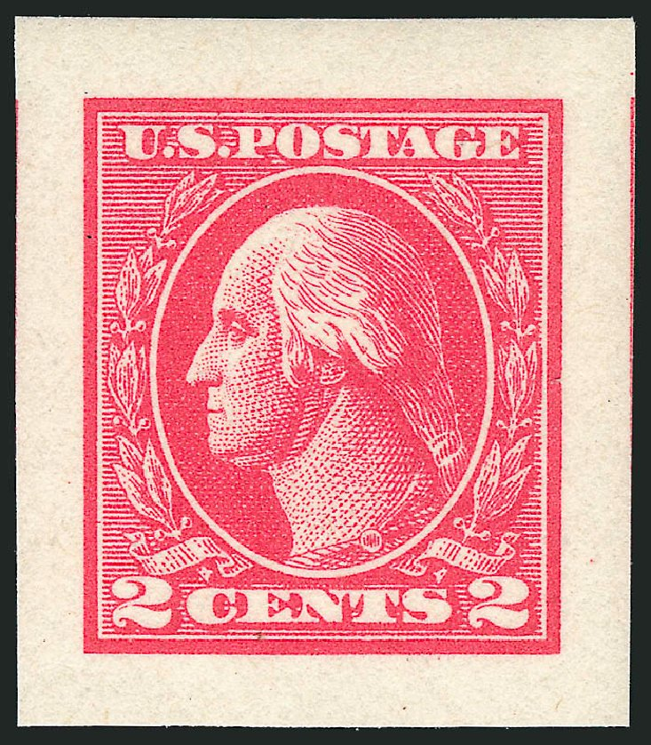 Values of US Stamps Scott Catalog # 534 - 1920 2c Washington Offset Imperf. Robert Siegel Auction Galleries, Sep 2014, Sale 1078, Lot 582