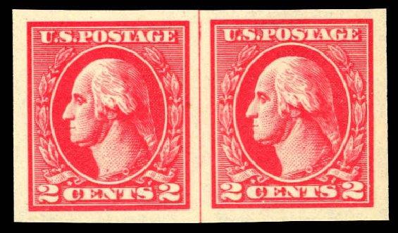 Prices of US Stamp Scott # 534A: 1920 2c Washington Offset Imperf. Daniel Kelleher Auctions, Dec 2012, Sale 633, Lot 919