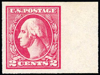 Prices of US Stamp Scott Catalog #534A - 2c 1920 Washington Offset Imperf. Schuyler J. Rumsey Philatelic Auctions, Apr 2015, Sale 60, Lot 2432