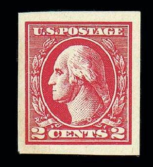 Prices of US Stamps Scott Catalogue #534A: 2c 1920 Washington Offset Imperf. Matthew Bennett International, Dec 2007, Sale 325, Lot 2203