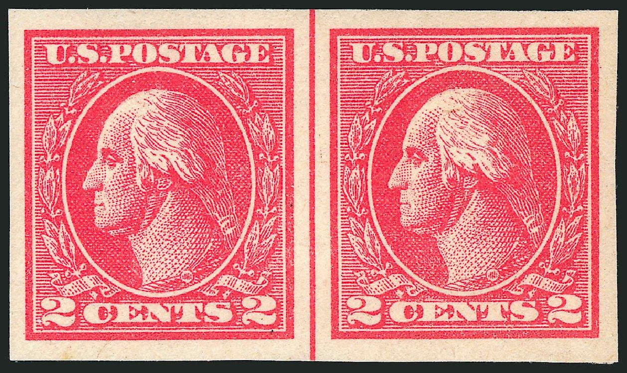 US Stamp Price Scott Catalogue #534B - 2c 1920 Washington Offset Imperf. Robert Siegel Auction Galleries, Apr 2014, Sale 1068, Lot 308