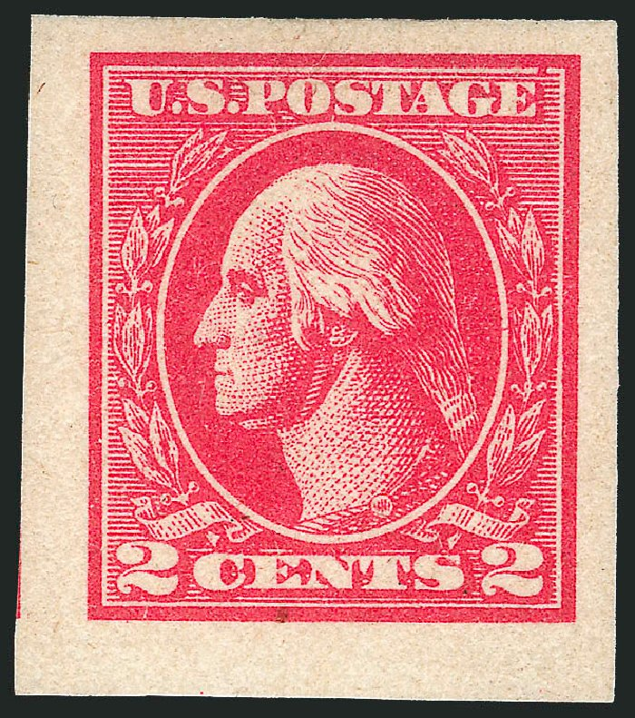 US Stamp Prices Scott Catalogue # 534B: 2c 1920 Washington Offset Imperf. Robert Siegel Auction Galleries, Apr 2015, Sale 1096, Lot 768