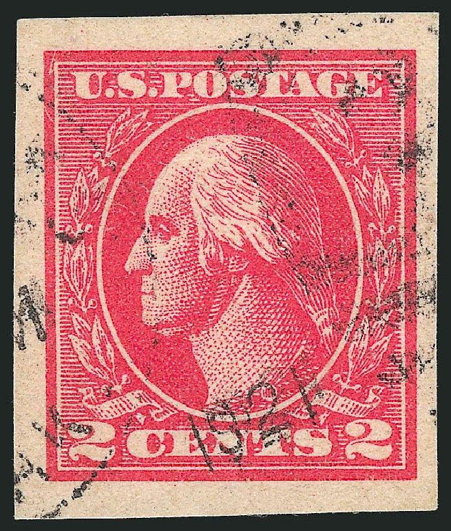 US Stamps Prices Scott Catalogue #534B - 2c 1920 Washington Offset Imperf. Robert Siegel Auction Galleries, Feb 2015, Sale 1093, Lot 500