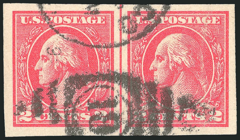 Prices of US Stamps Scott Catalogue # 534B - 1920 2c Washington Offset Imperf. Robert Siegel Auction Galleries, Feb 2015, Sale 1092, Lot 1364