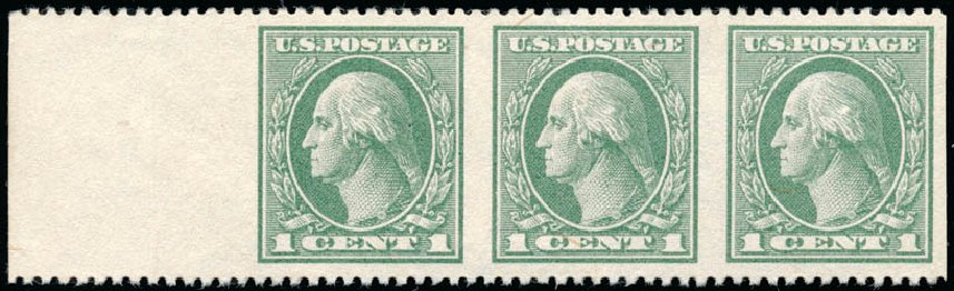 US Stamp Prices Scott #536 - 1c 1919 Washington Offset Perf 12.5. Schuyler J. Rumsey Philatelic Auctions, Apr 2015, Sale 60, Lot 2718