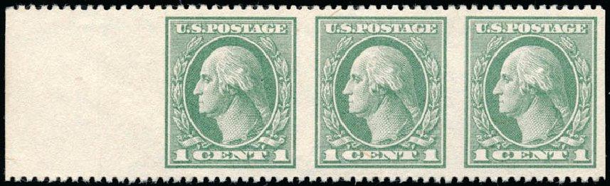 US Stamp Prices Scott #536 - 1c 1919 Washington Offset Perf 12.5. Schuyler J. Rumsey Philatelic Auctions, Apr 2015, Sale 60, Lot 2718