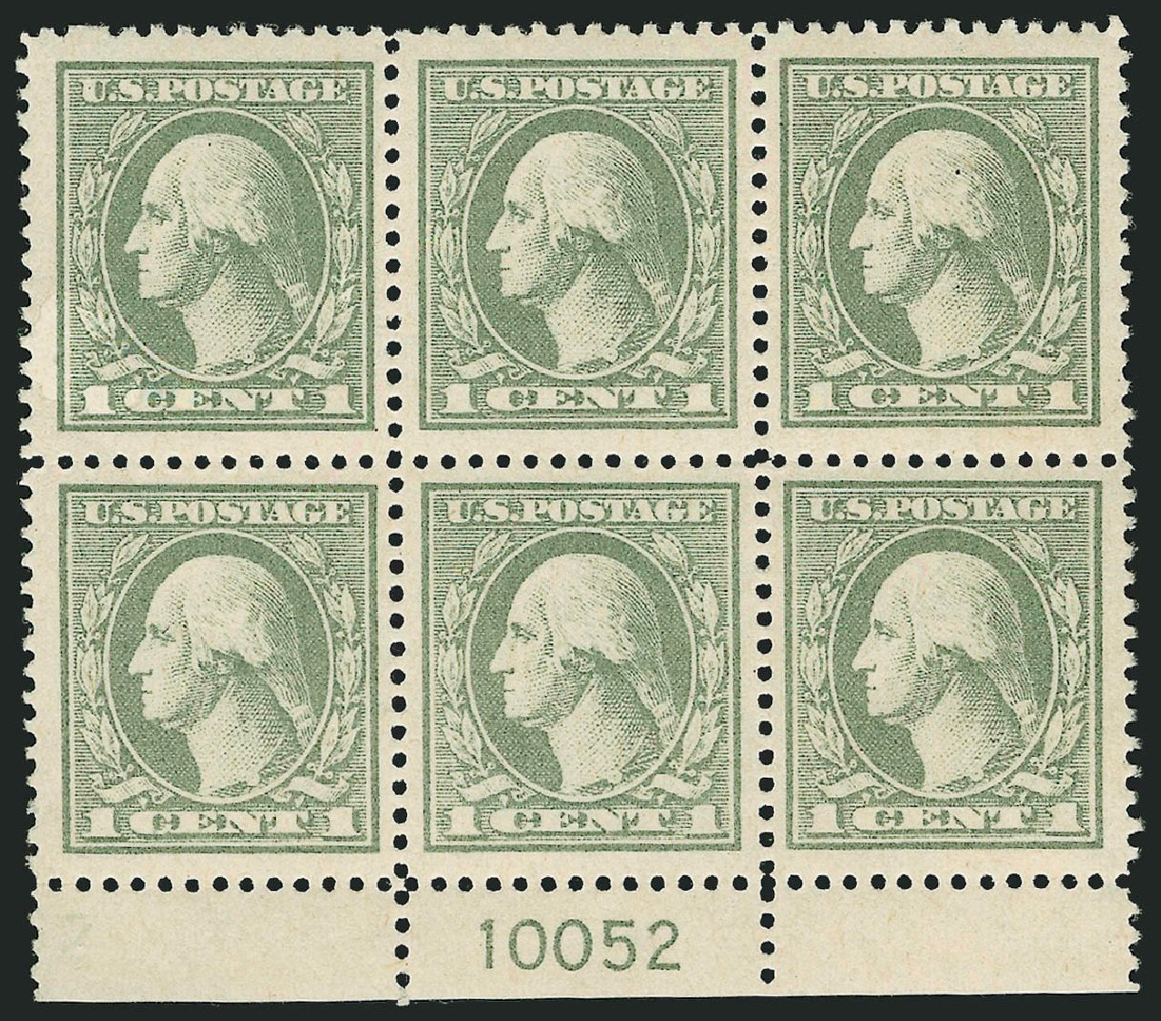 Prices of US Stamp Scott Catalogue # 536: 1c 1919 Washington Offset Perf 12.5. Robert Siegel Auction Galleries, Feb 2015, Sale 1093, Lot 503