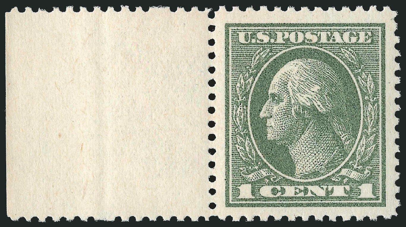 Costs of US Stamps Scott Catalog 536: 1c 1919 Washington Offset Perf 12.5. Robert Siegel Auction Galleries, Dec 2013, Sale 1062, Lot 726