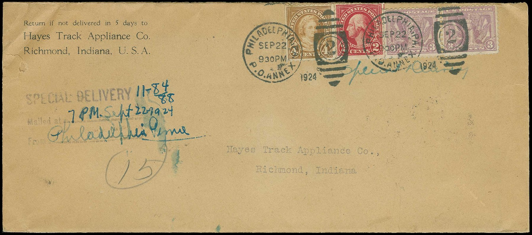 Costs of US Stamps Scott Catalog 537 - 1919 3c Victory. H.R. Harmer, Jun 2015, Sale 3007, Lot 3355