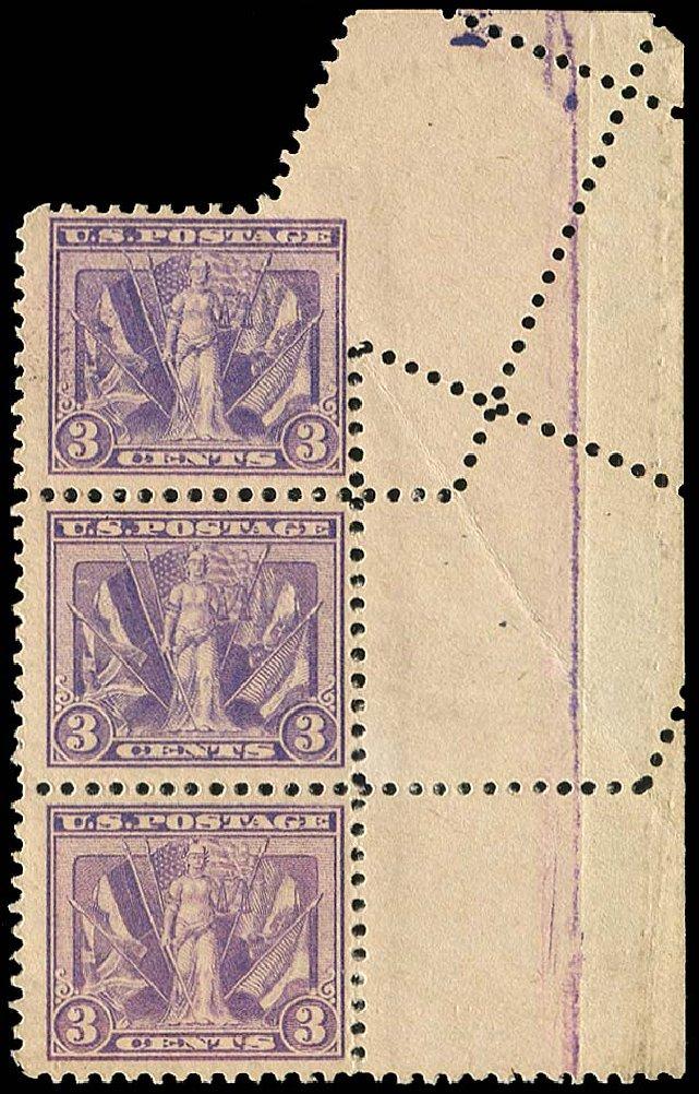 Costs of US Stamp Scott Catalog 537 - 1919 3c Victory. Regency-Superior, Nov 2014, Sale 108, Lot 1516