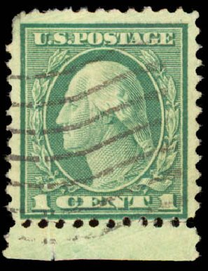 Values Of US Stamp Scott Catalog 544 1922 1c Washington Rotary Perf 11
