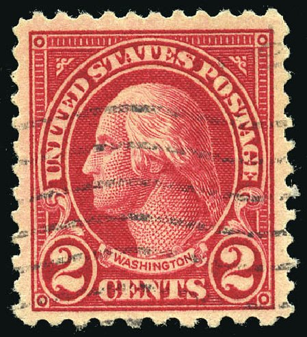 US Stamps Price Scott Catalogue 554 2c 1923 Washington Perf 11 Matthew Bennett International
