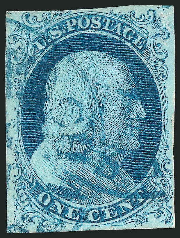 Costs of US Stamps Scott Catalog 5A - 1851 1c Franklin. Robert Siegel Auction Galleries, Mar 2014, Sale 1067, Lot 881