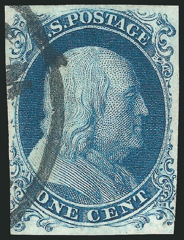 Cost Of Us Stamps Scott Catalogue 6 1c 1857 Franklin