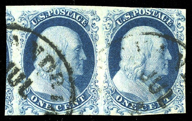 US Stamp Price Scott #6: 1c 1857 Franklin. Matthew Bennett International, Feb 2015, Sale 351, Lot 22