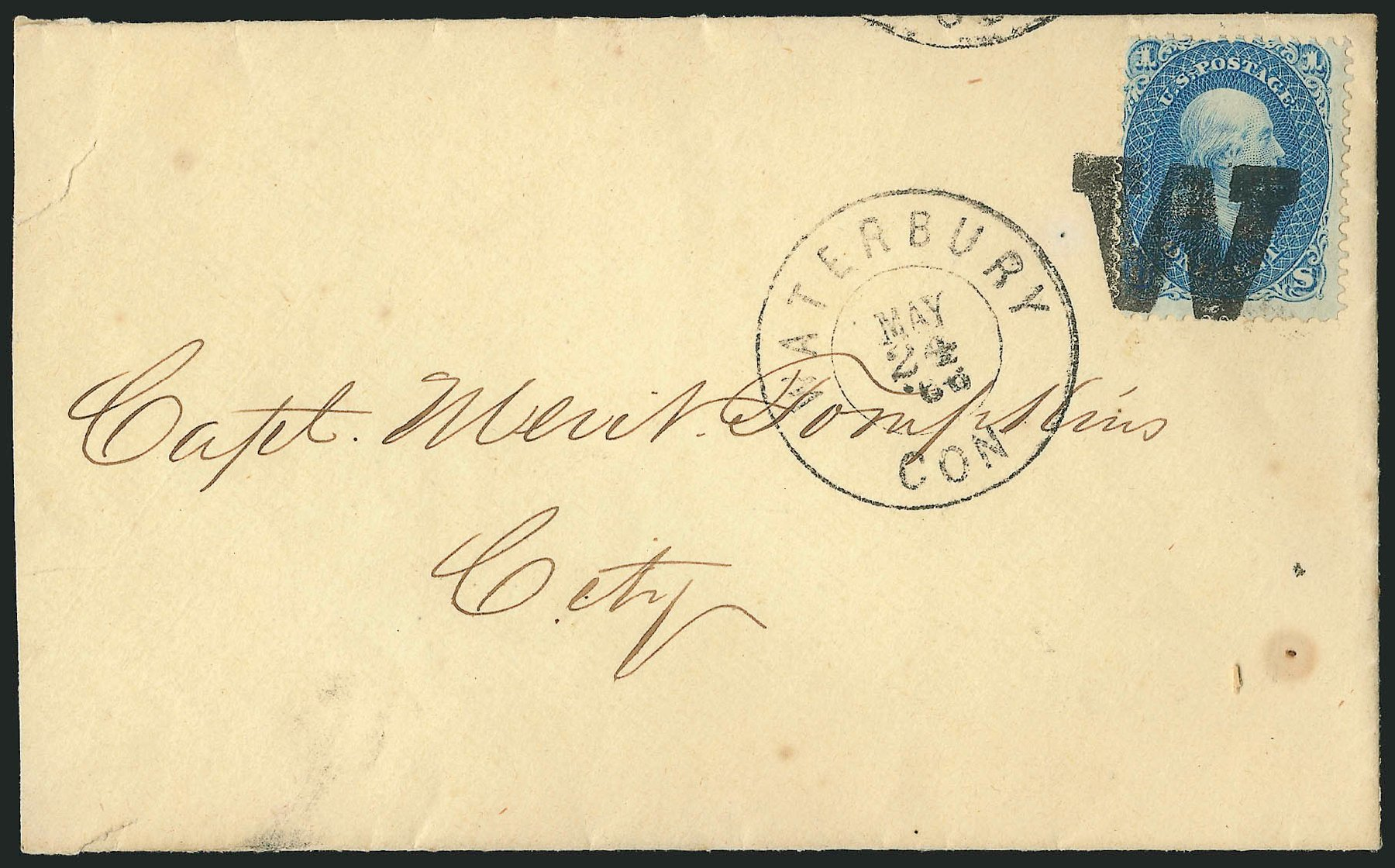 Cost of US Stamps Scott # 63 - 1c 1861 Franklin. Robert Siegel Auction Galleries, Jun 2015, Sale 1105, Lot 2597
