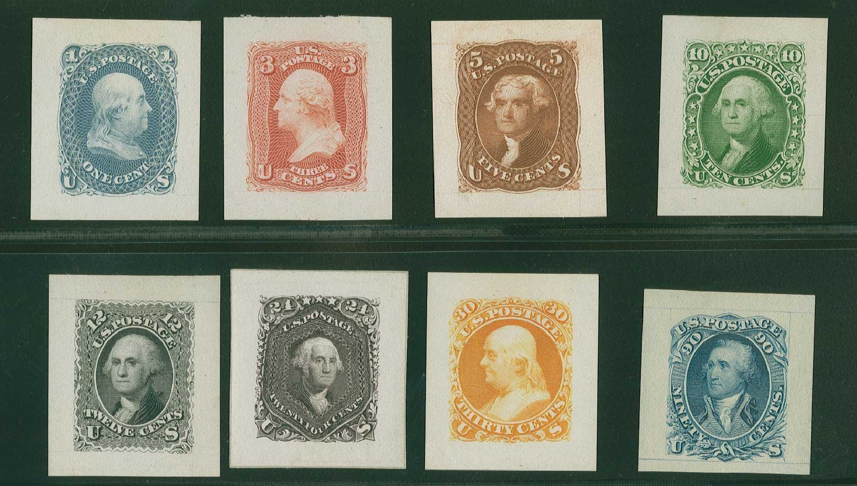 Price of US Stamps Scott Cat. # 63: 1c 1861 Franklin. H.R. Harmer, Jun 2015, Sale 3007, Lot 3016