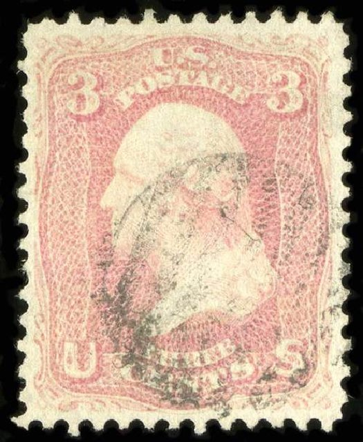 US Stamps Value Scott #64 - 3c 1861 Washington. Spink Shreves Galleries, Jul 2015, Sale 151, Lot 67