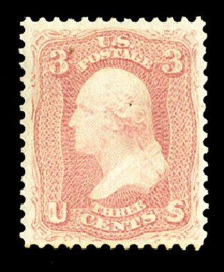 Costs of US Stamps Scott Catalogue # 64 - 3c 1861 Washington. Cherrystone Auctions, Jul 2015, Sale 201507, Lot 2032