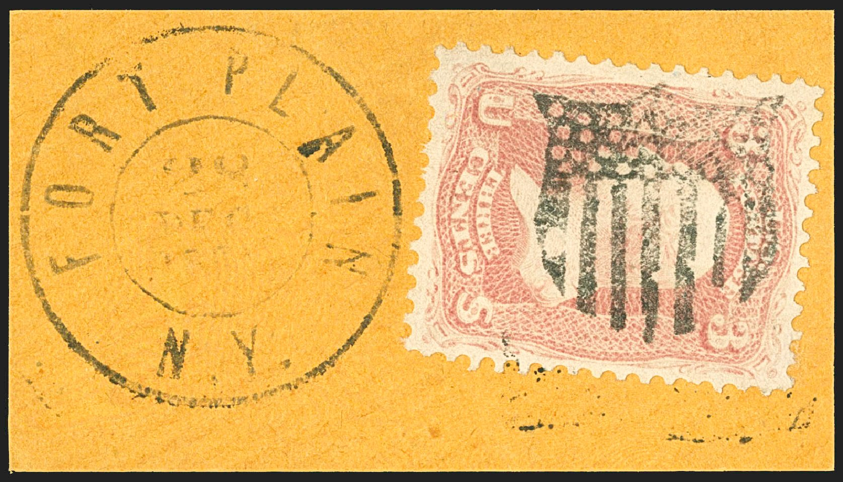 Values of US Stamp Scott Catalog #64: 1861 3c Washington. Robert Siegel Auction Galleries, Jul 2015, Sale 1107, Lot 153