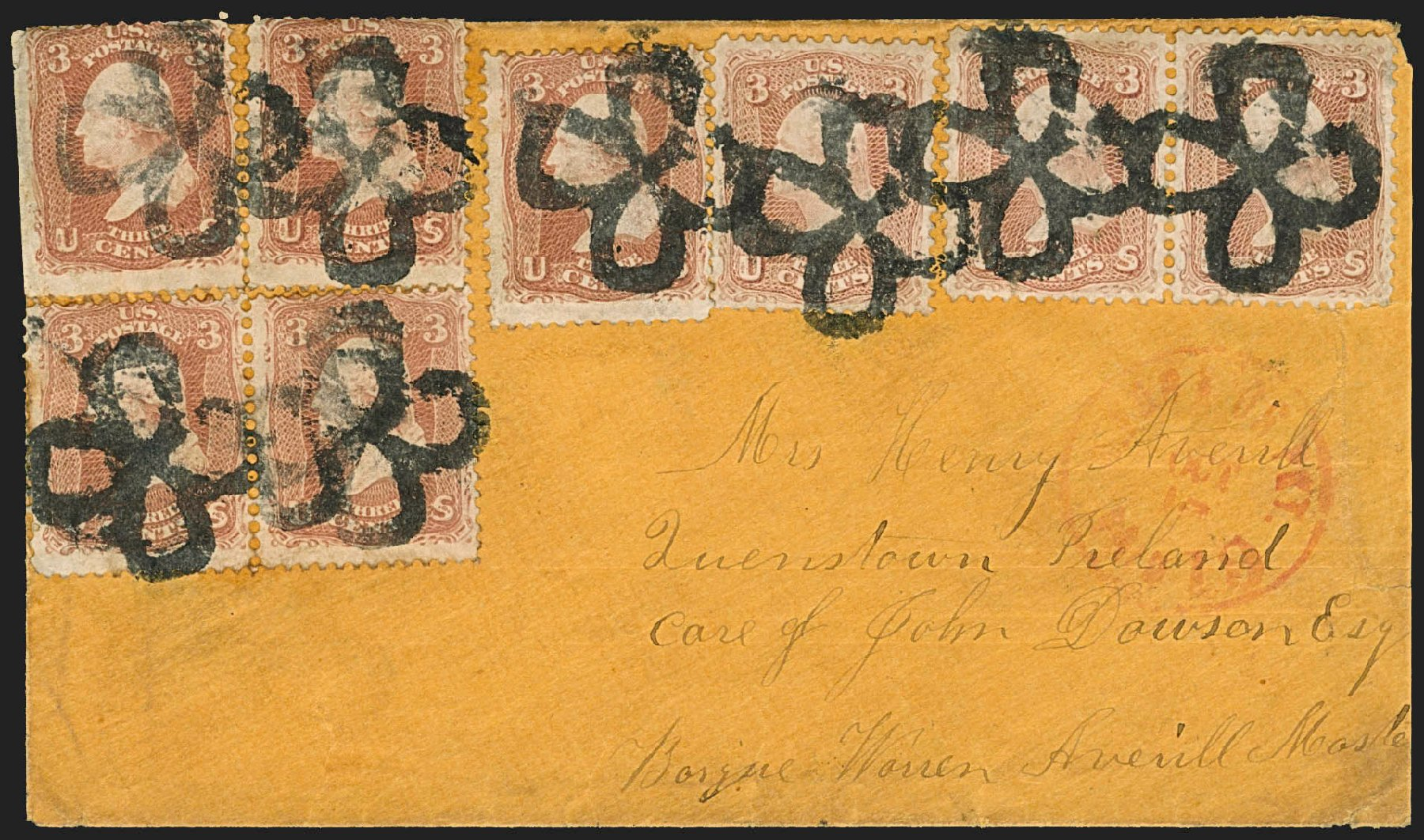 Values of US Stamps Scott Cat. # 65: 1861 3c Washington. Robert Siegel Auction Galleries, Jul 2015, Sale 1107, Lot 171