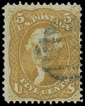 US Stamp Value Scott #67 - 5c 1861 Jefferson. H.R. Harmer, Jun 2015, Sale 3007, Lot 3130