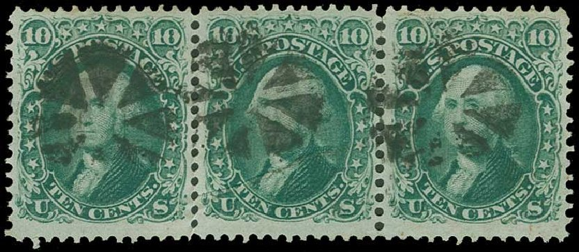 Cost of US Stamps Scott # 68 - 10c 1861 Washington. H.R. Harmer, Jun 2015, Sale 3007, Lot 3133