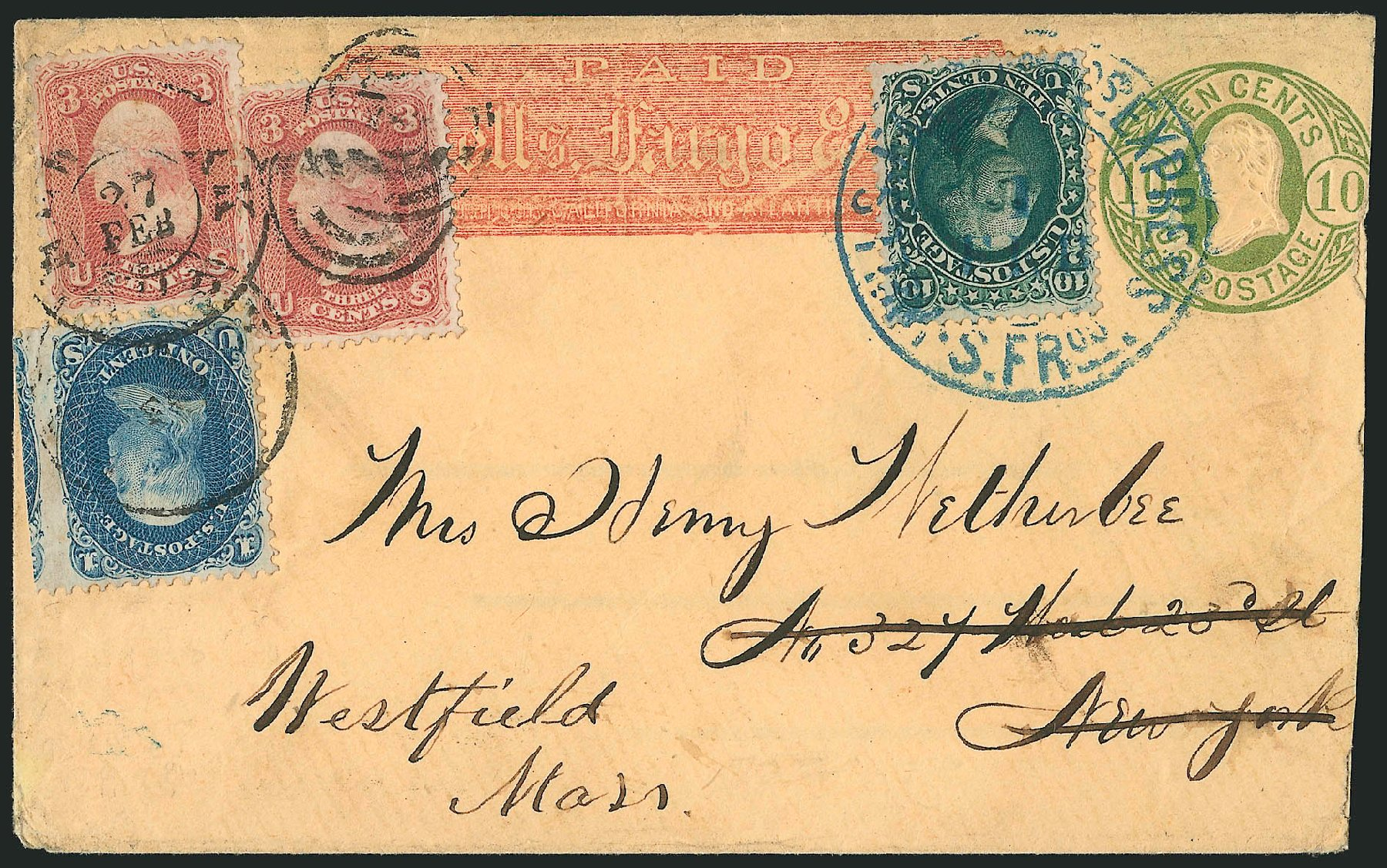 Values of US Stamps Scott Cat. 68: 1861 10c Washington. Robert Siegel Auction Galleries, Jun 2015, Sale 1106, Lot 3073