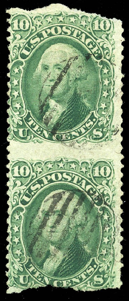 Cost of US Stamps Scott # 68 - 10c 1861 Washington. Matthew Bennett International, Feb 2015, Sale 351, Lot 66
