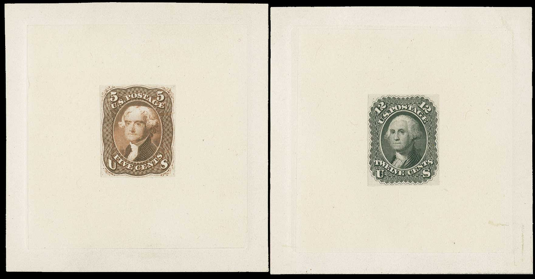 Values of US Stamps Scott Catalogue # 69: 1861 12c Washington. H.R. Harmer, Jun 2015, Sale 3007, Lot 3018