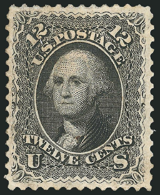 Value of US Stamps Scott Catalog 69 - 12c 1861 Washington. Robert Siegel Auction Galleries, Dec 2014, Sale 1090, Lot 1198