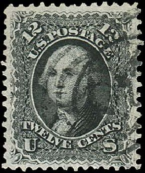Costs of US Stamp Scott #69: 12c 1861 Washington. Regency-Superior, Nov 2014, Sale 108, Lot 159