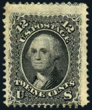 Value of US Stamp Scott #69: 12c 1861 Washington. Harmer-Schau Auction Galleries, Nov 2014, Sale 103, Lot 92