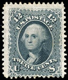 Values of US Stamp Scott Cat. # 69 - 12c 1861 Washington. Schuyler J. Rumsey Philatelic Auctions, Apr 2015, Sale 60, Lot 2032