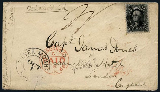 Cost of US Stamps Scott Catalogue #69: 1861 12c Washington. Harmer-Schau Auction Galleries, Nov 2014, Sale 103, Lot 93